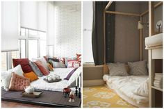4 Lovely Ways To Style A Bed On The Floor