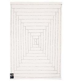 Saana & Olli Piilopirtti -matto, valkoinen-musta