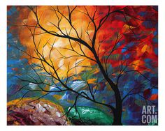 Jeweled Dreams Giclee Print by Megan Aroon Duncanson at Art.com