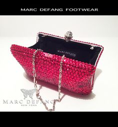 RED clutch bag this time