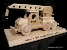 Wooden Toys, Wooden Cart, Activity Toys, Wooden Truck, Accessories, Kids, Wooden Toy Plans, Wood Toys, Woodworking Toys