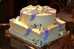 Flowers Birthday Cake Bittersweet Bake Shoppe Tyngsboro, Massachusetts