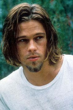 Brad Pitt in: ,True Romance. Trendy Mens Haircuts, Cool Haircuts, Brad Pitt Haircut, Haircut Men, Brad Pitt Movies, Bratt Pitt, Brad Pitt And Angelina Jolie, Z Cam, True Romance