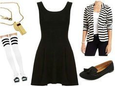 13 Little Black Dress Halloween Costume Ideas