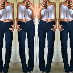 Current Elliot flare denim jeans Must have staple piece! Great condition! Current/Elliott Jeans Flare & Wide Leg