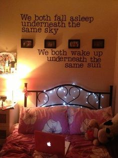 5sos lyrics. Love the room!