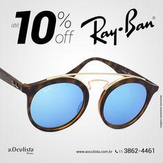 Ray Ban com até 10% de desconto, corre! Acesse: https://aoculista.com.br/ray-ban Compre pelo site em até 10x sem juros e frete grátis #aoculista #rayban #glasses #sunglasses #eyeglasses #oculos