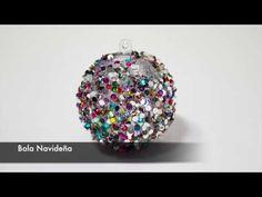 Como hacer una bola para decorar el árbol de navidad!