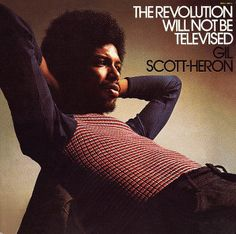 Gil Scott-Heron, an American soul and jazz poet, musician, and author, known primarily for his work as a spoken word performer in the 1970s and '80s.