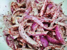 Maryam's Culinary Wonders: 484. Iraqi Onion-Sumac Relish