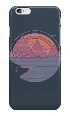 """""""The Mountains Are Calling"""" iPhone Cases & Skins by thepapercrane 