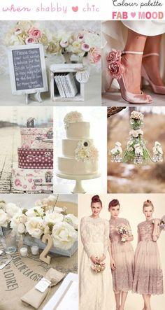 Shabby chic wedding ideas , Chic weddings,vintage wedding