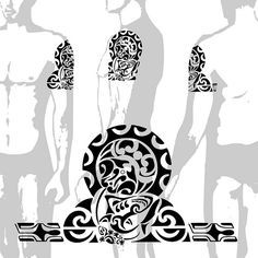 maori tattoos in forearm Hai Tattoos, Forearm Tattoos, Arm Band Tattoo, Body Art Tattoos, Sleeve Tattoos, Future Tattoos, Tattoos For Guys, Ta Moko Tattoo, Bible Verse Tattoos