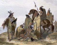 Painting of Crow Indians by Karl Bodmer/Historical Picture Archive/Corbis via National Geographic: http://www.nationalgeographic.com/lewisandclark/record_tribes_002_19_21.html