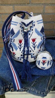 450 Beste Afbeeldingen Van Mochila Haken Crochet Bags Crochet
