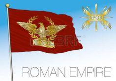 Roman Empire historical flag