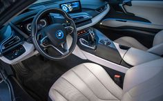Latest BMW Concours d'Elegance Edition for Auction at pebble beach, United States on next Saturday. It's One-of-a-Kind 2014 BMW hybrid Super Car. Bmw I8 2015, Latest Bmw, Bmw Dealership, Car Ui, Pebble Beach Concours, Automotive Design, Bugatti, Volvo, Super Cars