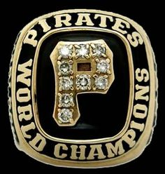 Rings That Bling – 1979 World Series Ring 1979 World Series, World Series Rings, Pittsburgh Pirates Baseball, Pittsburgh Sports, Pirate History, Pirate Photo, Pnc Park, Super Bowl Rings, Ring Of Honor