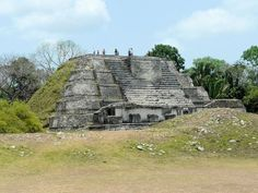 Belize Mayan temple sites  archaeological photos