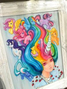 Strawberry Anarchy: My Little Pony Painting By Camilla d'Errico