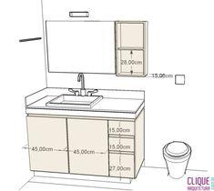 Banheiro/Lavabo: Escolhendo o Mobiliário - Clique Arquitetura