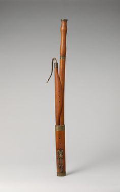 1750-1770 German (Butzbach) Bassoon in C at the Metropolitan Museum of Art, New York