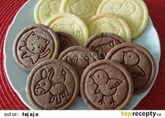 Sušenky recept - TopRecepty.cz Baking Recipes, Cake Recipes, Dessert Recipes, Desserts, Types Of Pastry, Czech Recipes, Galletas Cookies, Christmas Baking, Nutella