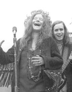 She shines ....laughter triggers her joy ...Janis Joplin