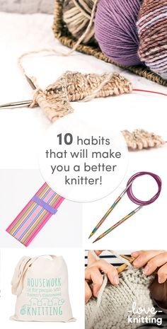 Even the most hardy of knitters make mistakes because they don't read their patterns properly! Find out the 10 habits that will make you a better knitter on the LoveKnitting website!