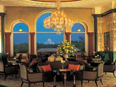 Oberoi Amarvilas, Agra, India. Rated 9.2