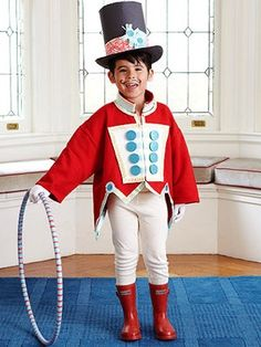 Circus party costumes u2013 youu0027ll want to take as many pictures of your kids  sc 1 st  Pinterest & Easy-to-Make Kidsu0027 Halloween Costumes | Pinterest | Circus acrobat ...