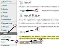 How to Switch from #Blogger to #WordPress without Losing Google Rankings