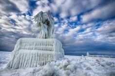 Le lac Michigan   21 superbes photos qui vont vous faire aimer l'hiver