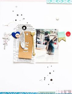 Camera body details by marivi at Studio Calico Scrapbooking Layouts, Scrapbook Pages, Photo Layouts, Studio Calico, Happy Mail, Layout Inspiration, Paper Board, Lay Outs, Paper Crafts