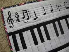 Musical Themed Layer Cake Fabric