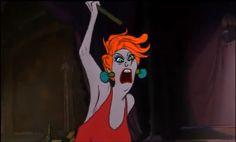 """Bernard et Bianca"" - Madame Medusa - Maléfique, Cruella, Jafar... On adore détester les méchants de Disney ! - Diaporama - AlloCiné"