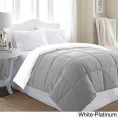 Affinity Home Collection All Season Reversible Down Alternative Comforter