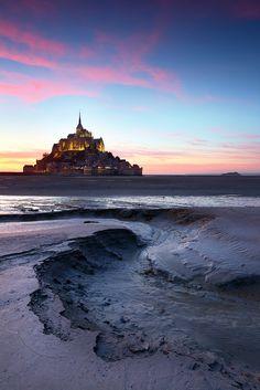 Mont St Michel by James Appleton, via 500px