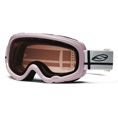 Smith Gambler Pro Snowboard Goggles Pink Girls Womens Rose Lens