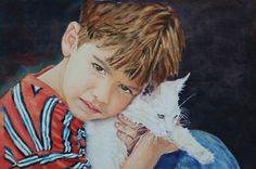 ✿ Children's Portraits in Watercolor ✿