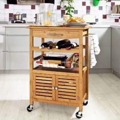 SoBuy FKW09-N Desserte de cuisine de service massif en Bambou, Chariot de cuisine Roulant, Meuble de rangement à roulettes, L60xH92xP40cm SoBuy http://www.amazon.fr/dp/B00JMZ6LHU/ref=cm_sw_r_pi_dp_UxN8wb0HHMX9W