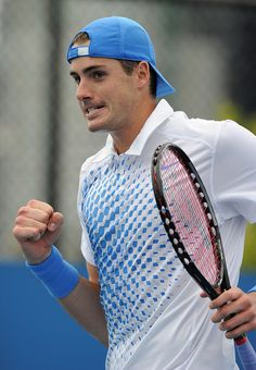 john isner<3  Yet another reason why I love watching tennis!