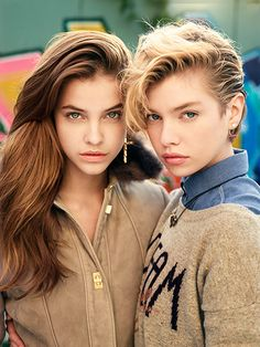 Barbara Palvin and Stella Maxwell by David Mushegain for VOGUE Japan - The Cool Hour | Style Inspiration | Shop Fashion