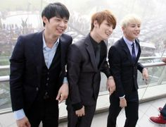 JYJ. #kpop. I wish they were still apart of DBSK. :'(