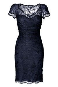 uber sexy black lace dress by Emilio Pucci