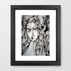 Memoirs Of A Geisha Framed Art Print by SimonaMereuArt - $45.00