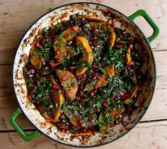 Fadime's Kurdish lamb and quince hotpot: lamb cooked in pomegranate juices to tender, honeyed effect.