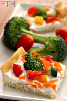 Veggie Pizza Bites Recipe