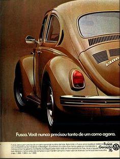 Anúncio Fusca - 1976