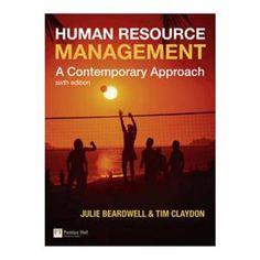 Human resource management : a contemporary approach (6th ed.) - by Julie Beardwell & Tim Claydon : Pearson Education, 2010. Dawsonera ebook
